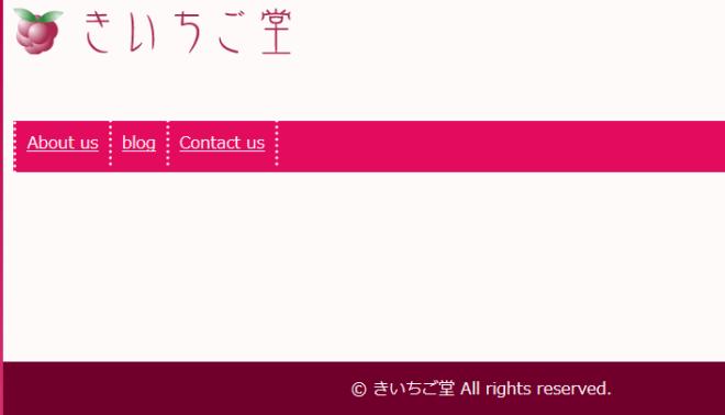 2015年きいちご堂オリジナルテーマ