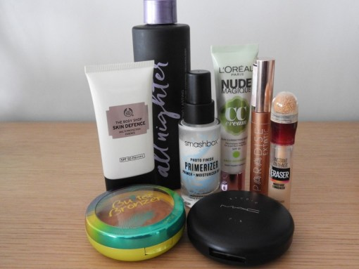 8 everyday natural makeup products