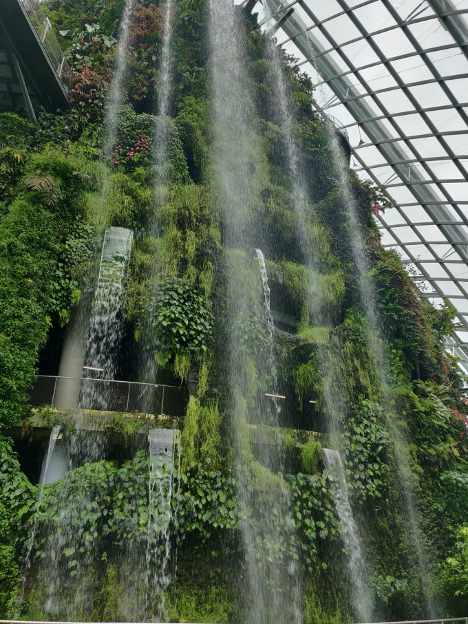 The largest indoor waterfall
