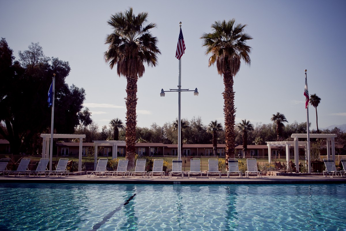 Poolside Death Valley