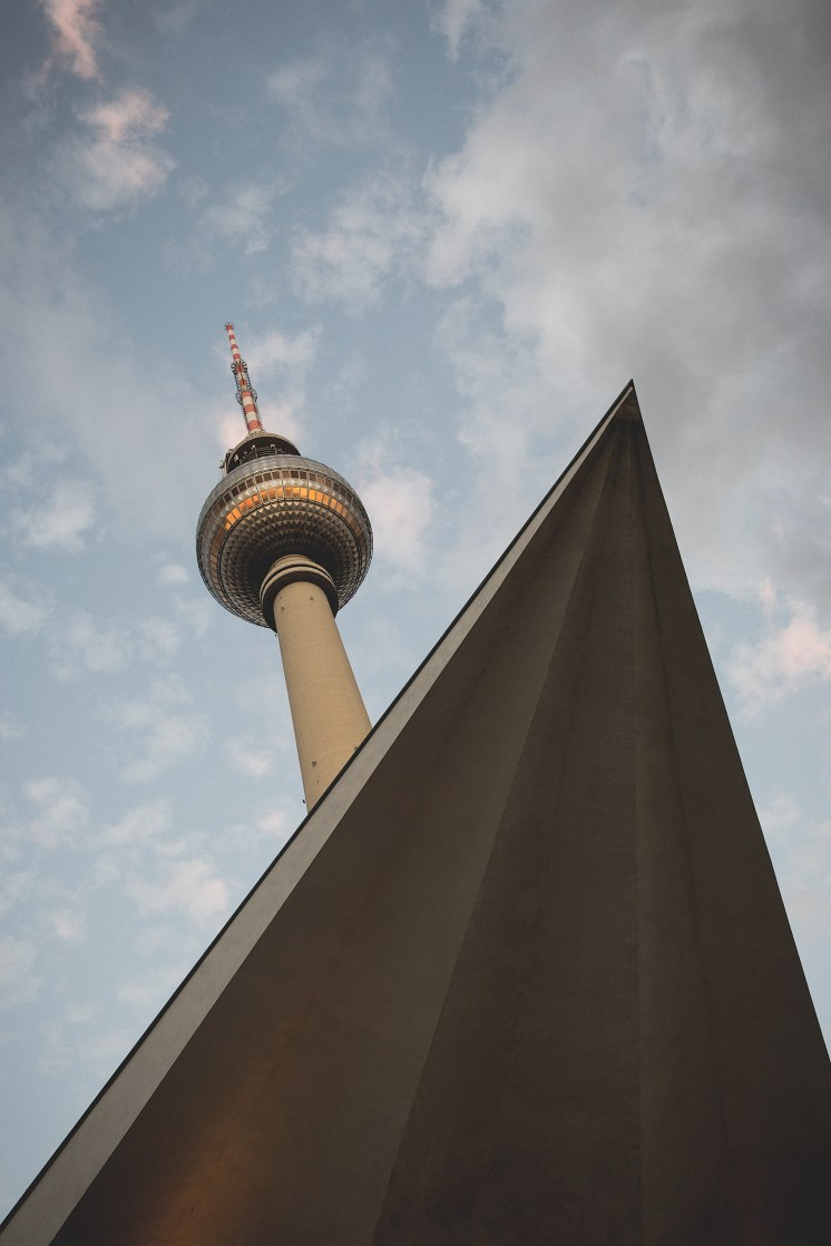 Fernsehturm, Berlin, Germany by Hermann Henselmann