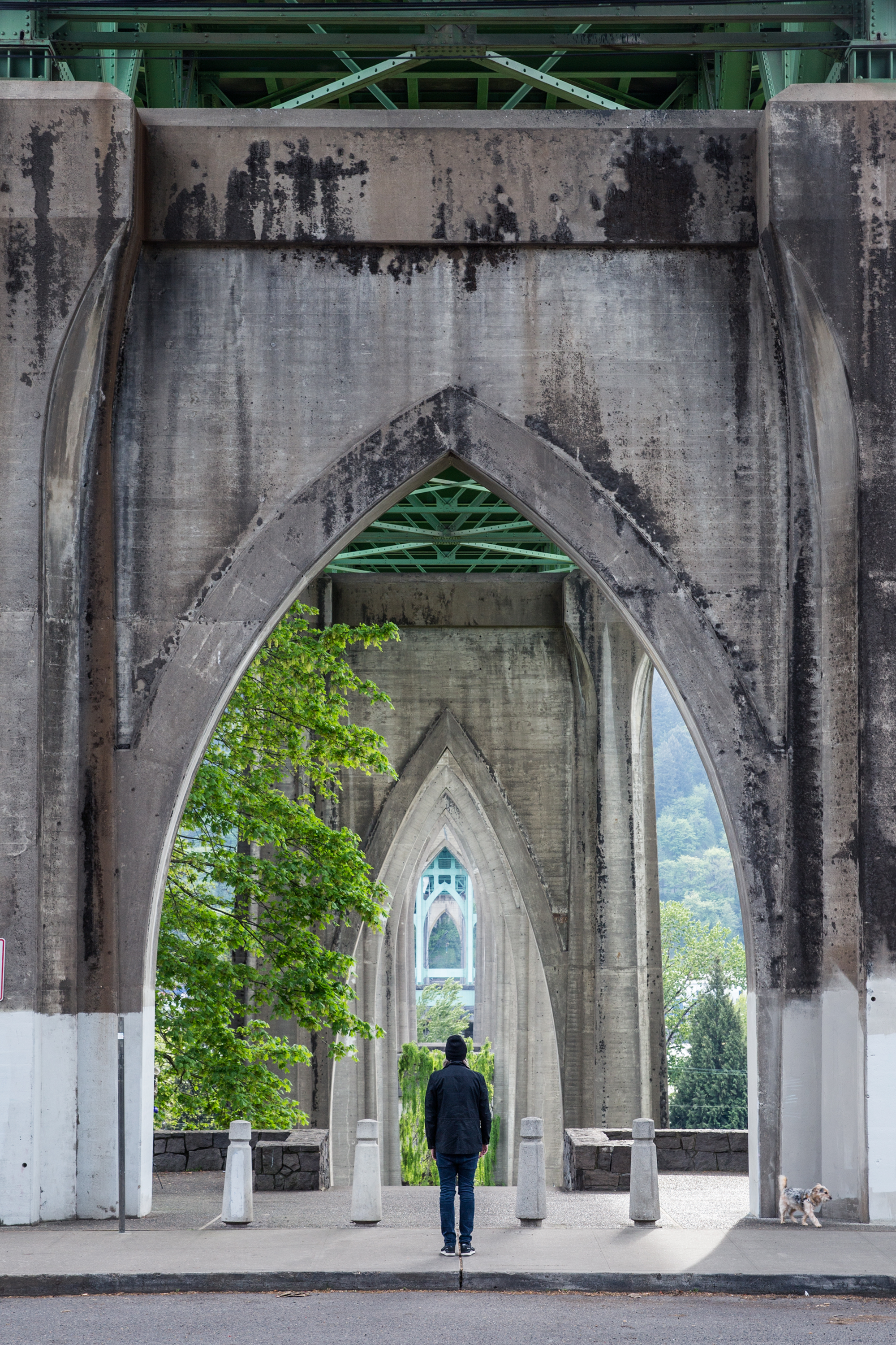 St. Johns Bridge, Portland