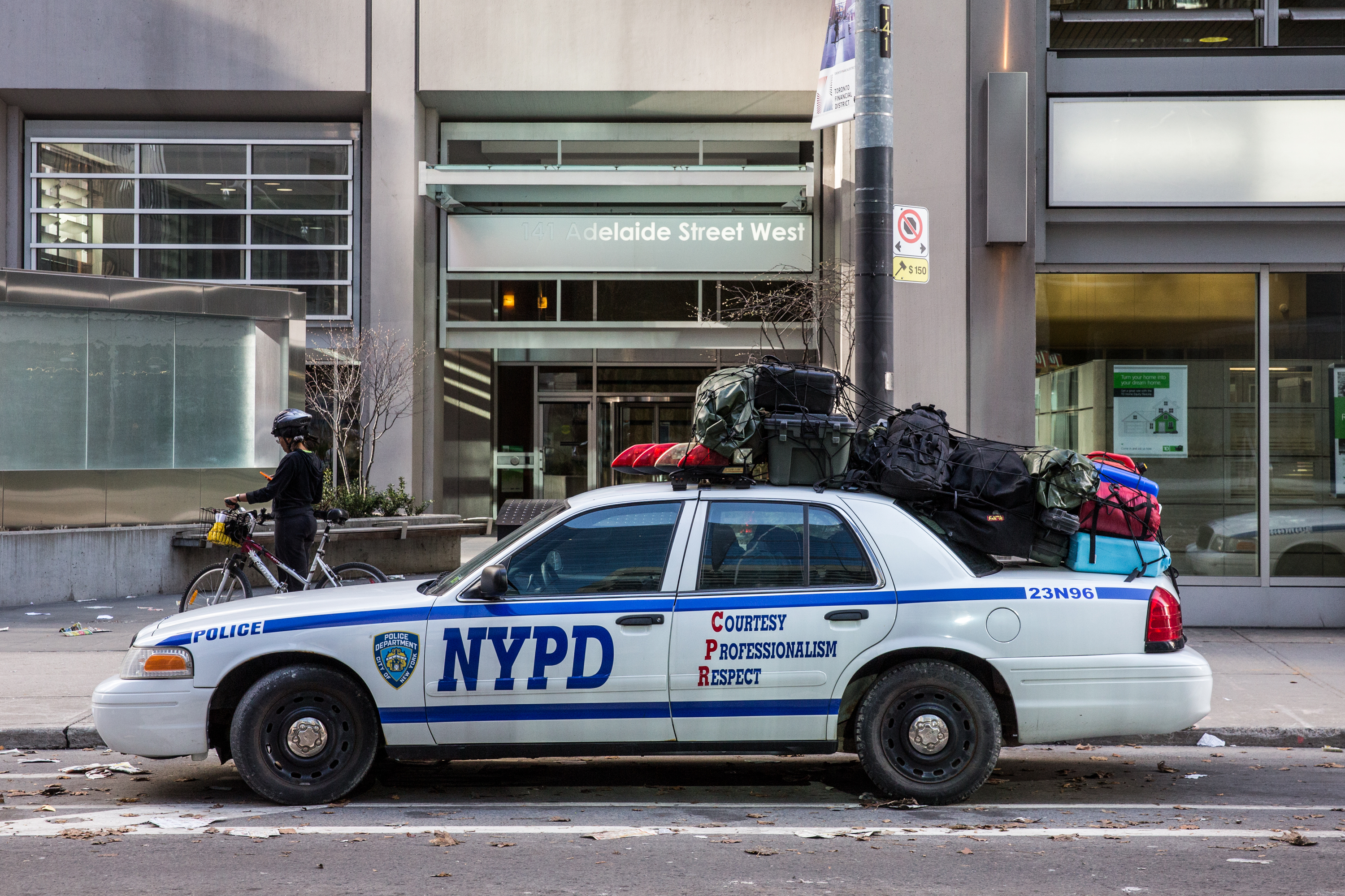 NYPD in Toronto?