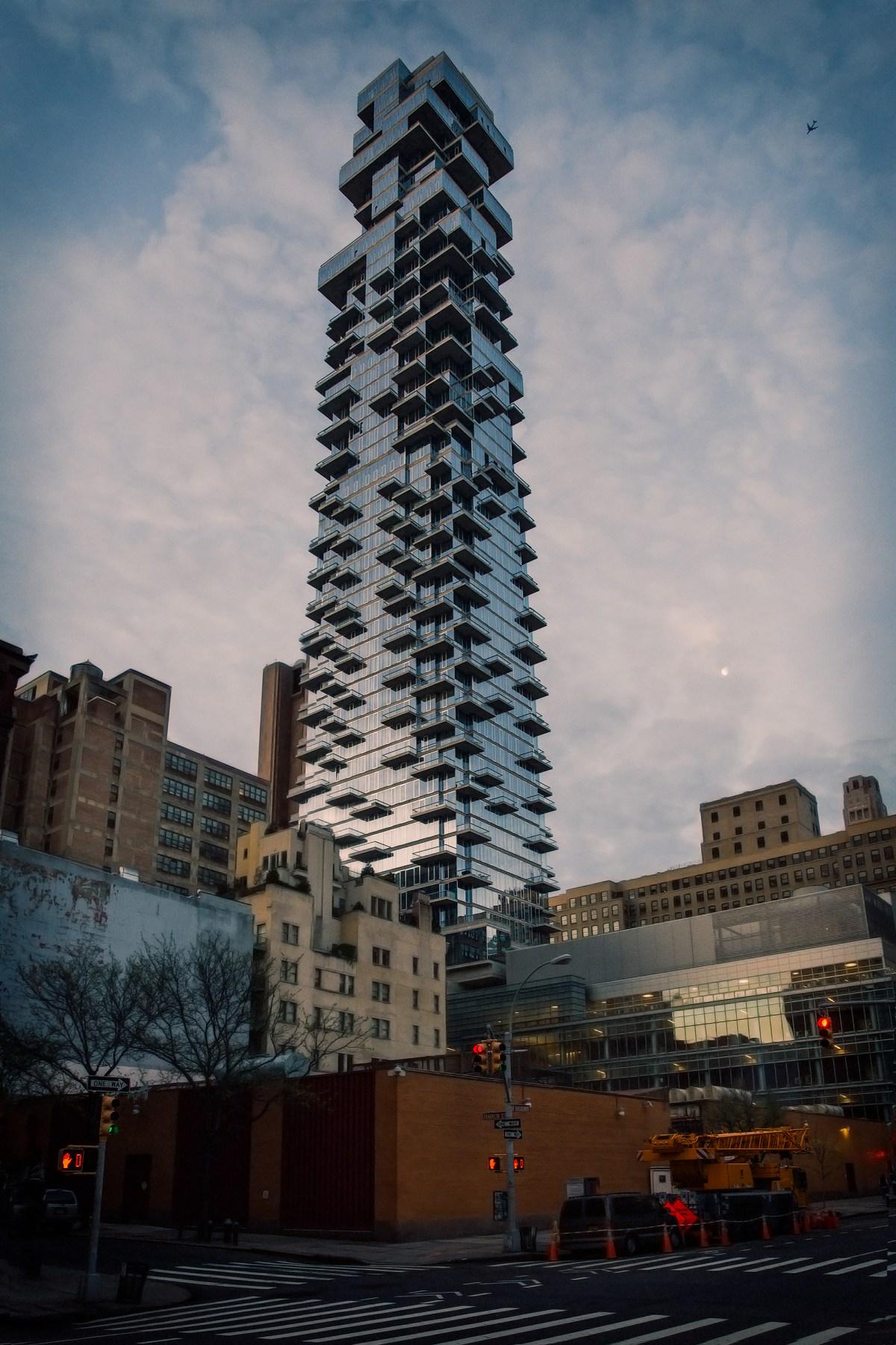 The Jenga Tower @ 56 Leonard Street