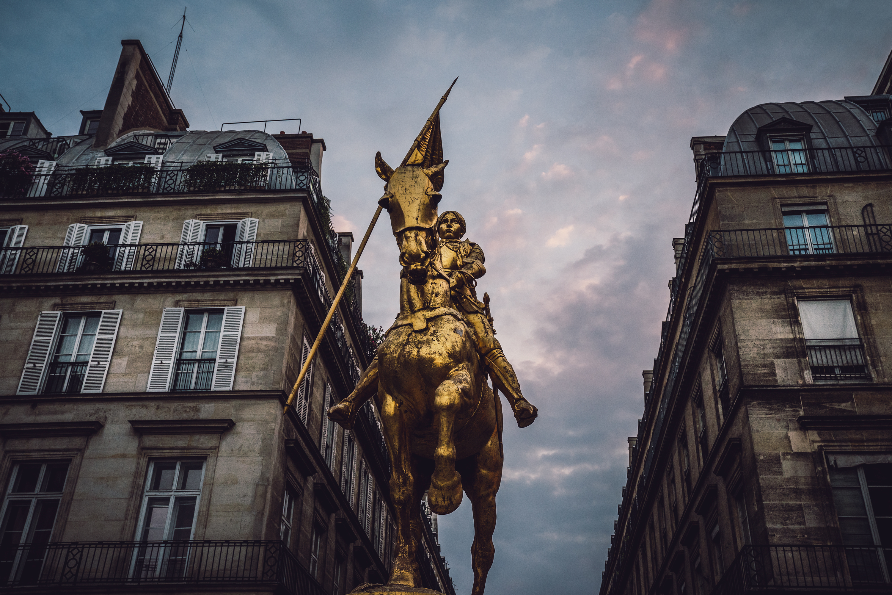 Joan of Arc, Paris