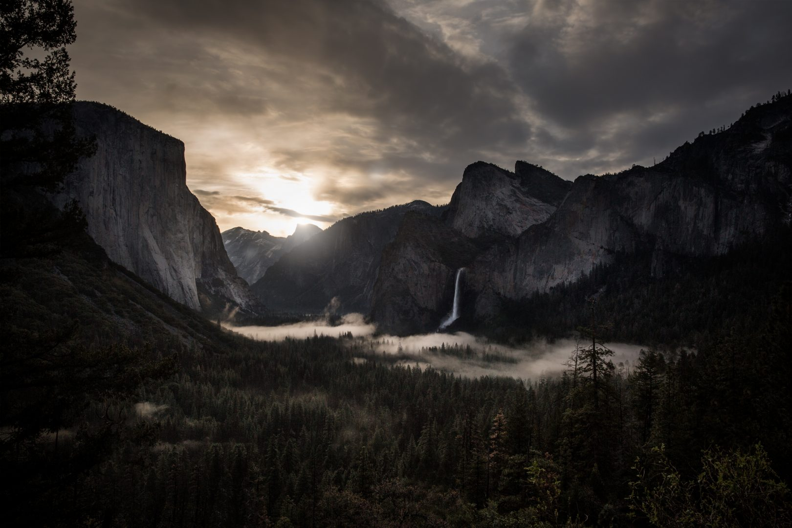 Sunrise, Yosemite