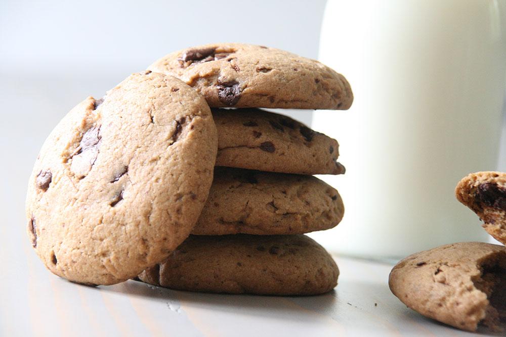 Hjemmelavet Nutella cookies