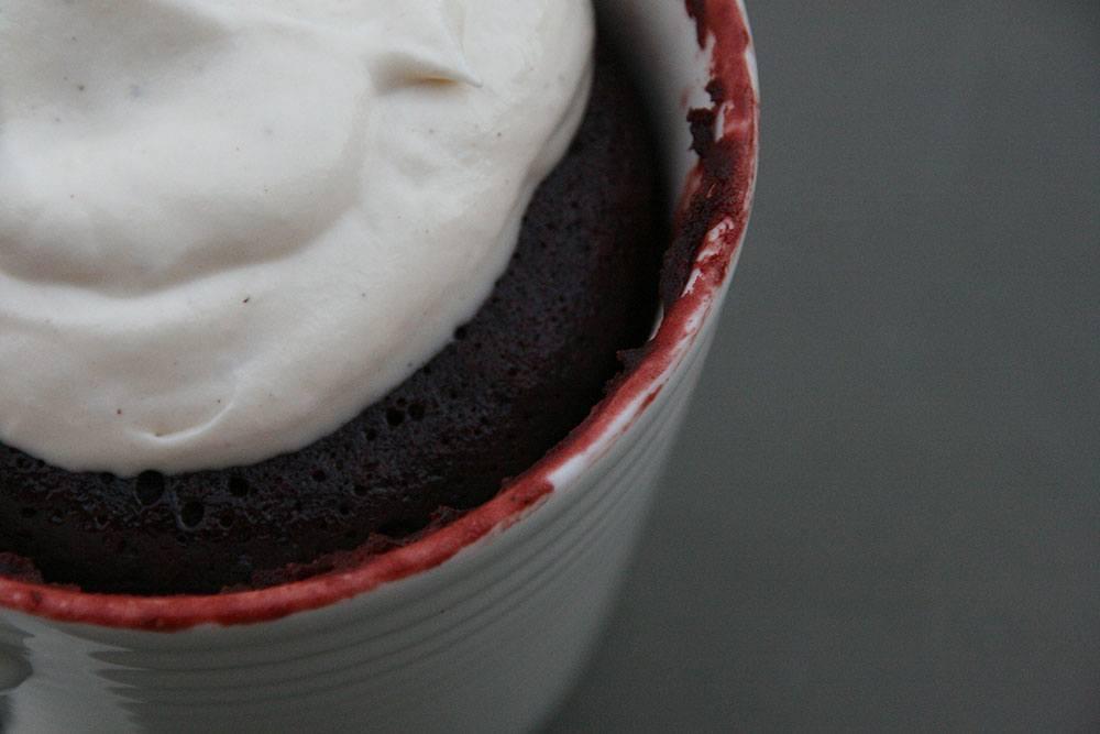 opskrift på red velvet kage på 5 minutter