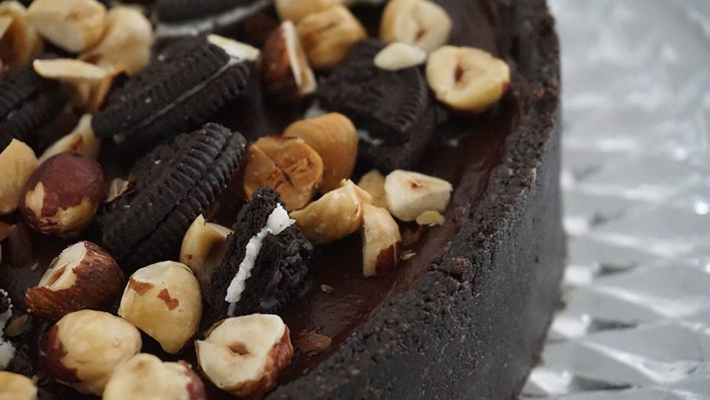 opskrift på nutella cheesecake