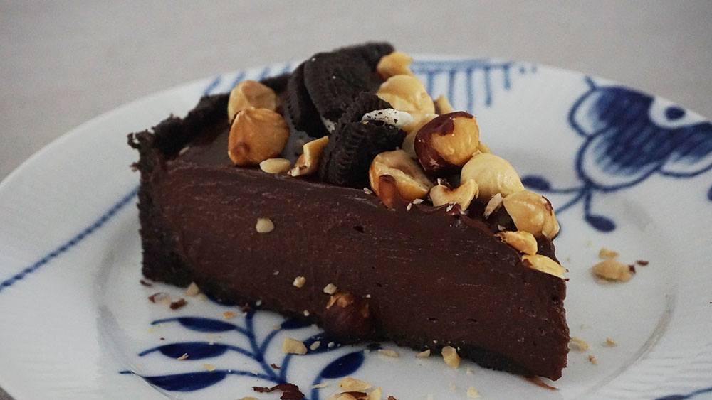 opskrift på lækker nutella cheesecake