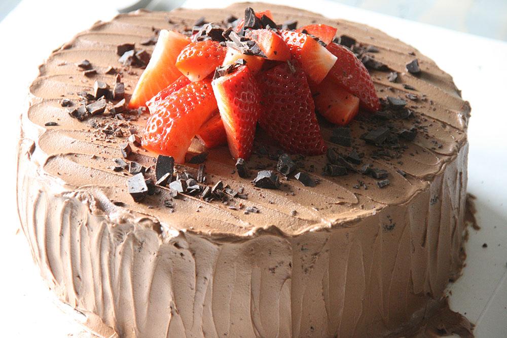 smørblød chokolade frosting opskrift