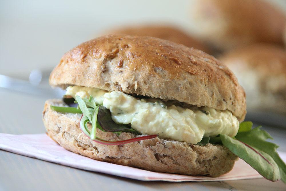 hjemmelavet bløde og saftige sandwichboller
