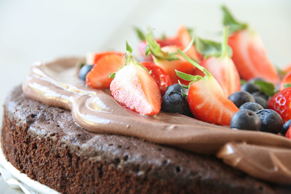 verdens bedste fudgy chokoladekage