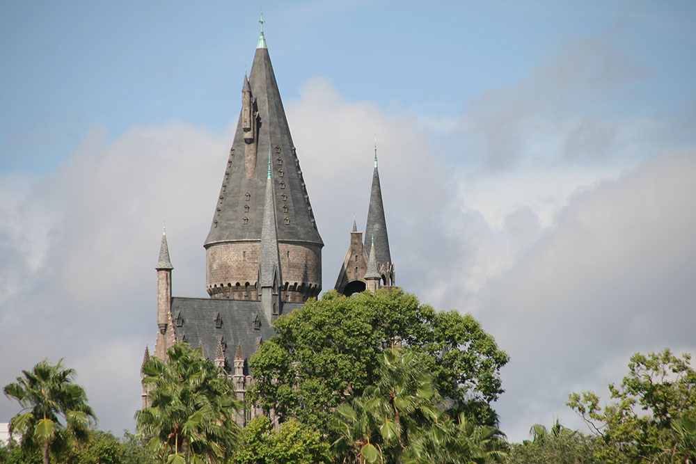 Hogwarts - Universals studios - Islands of adventure