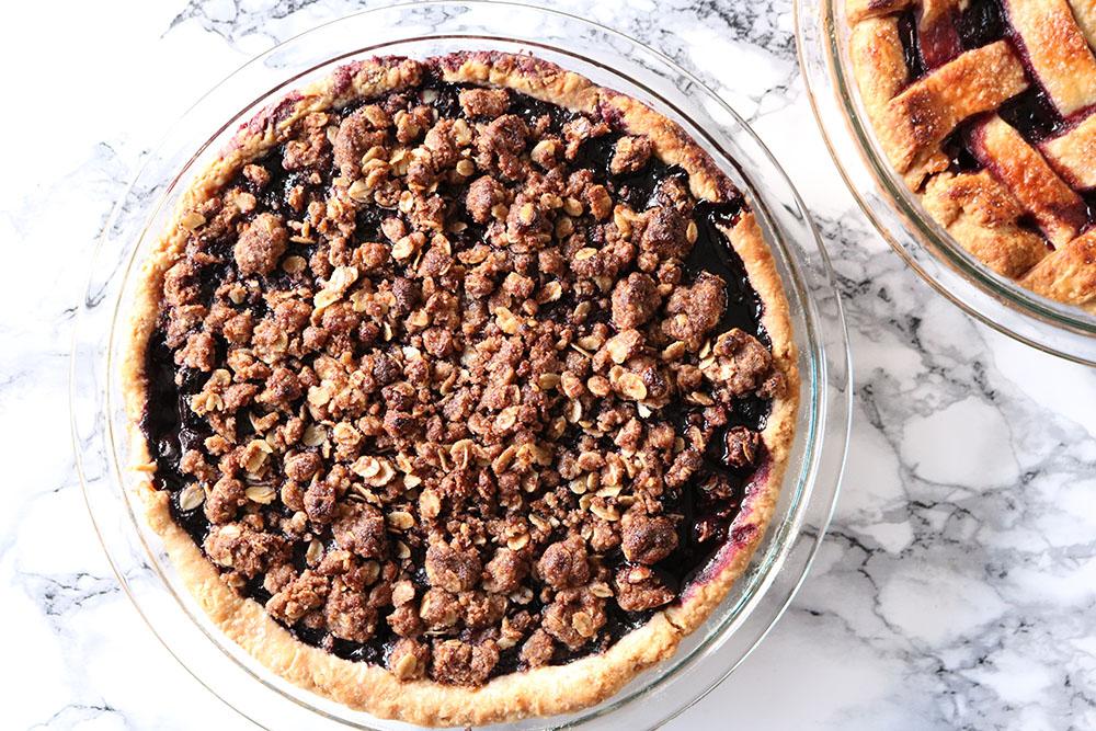 Den bedste opskrift på Blåbærtærte - Blueberry pie