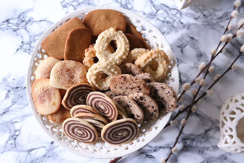 lækker opskrift på nemme vaniljesmåkager med chokoladestykker