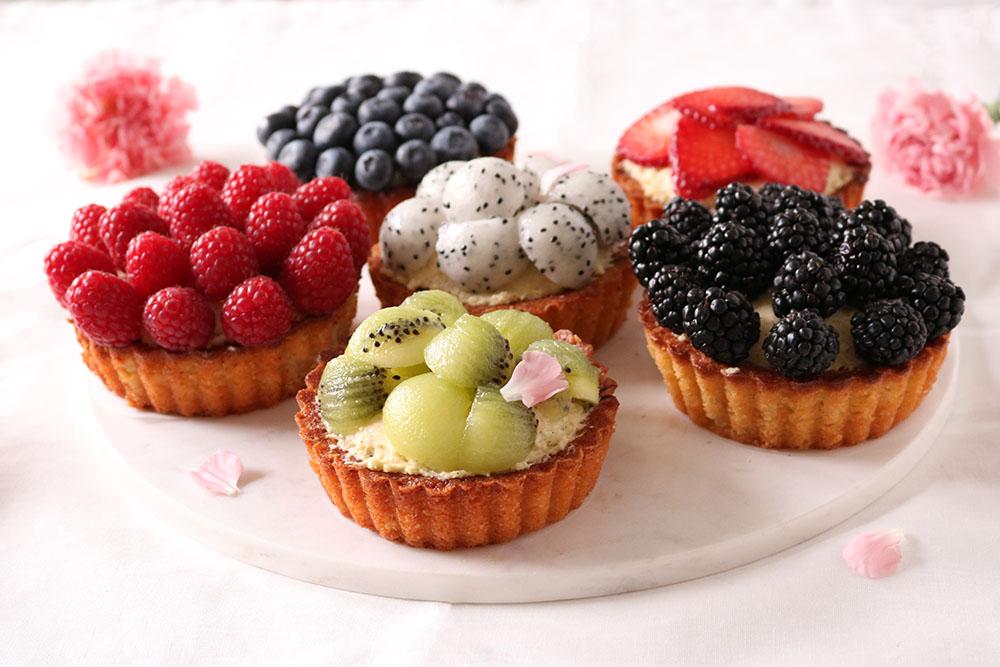 Himmelsk opskrift på små frugttærter - De bedste til dato!