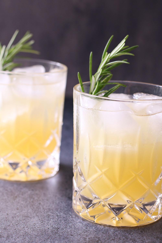 Opskrift på lækker ananas beertail