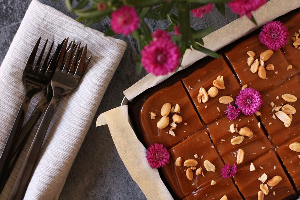 Lækker og nem palæo brownie