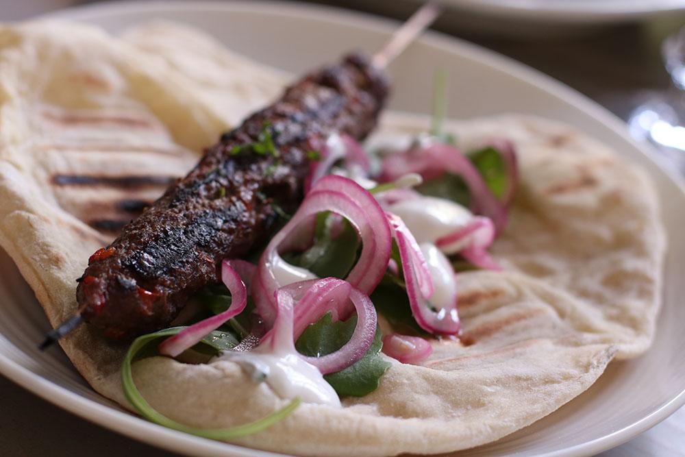 opskrift på lækre kebabspyd