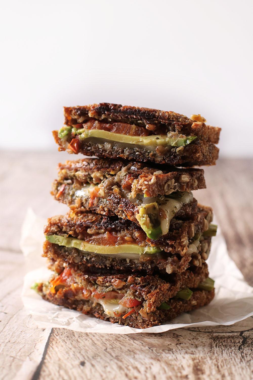 Perfekt frokost - Nem vegansk grillet sandwich