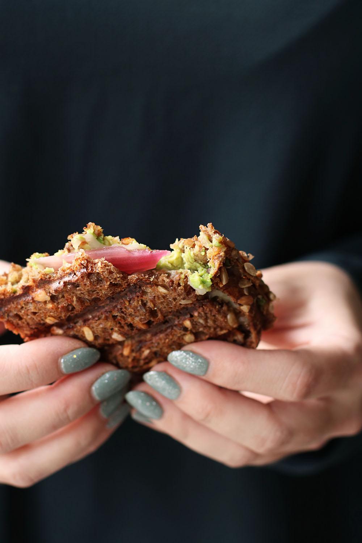 Lækker opskrift på vegansk grillet sandwich