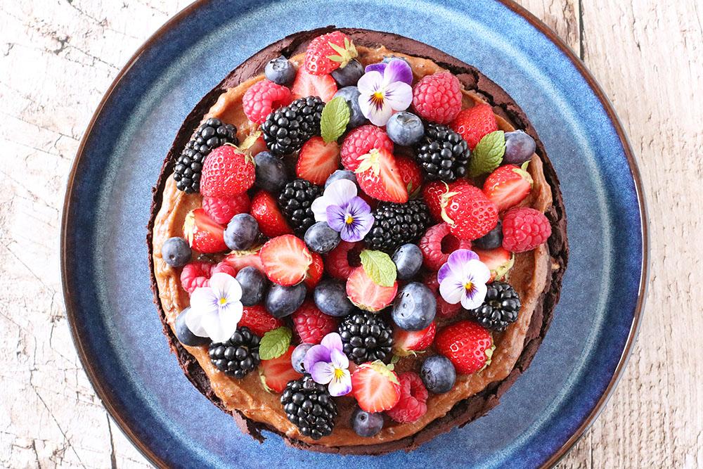 sund bønne brownie
