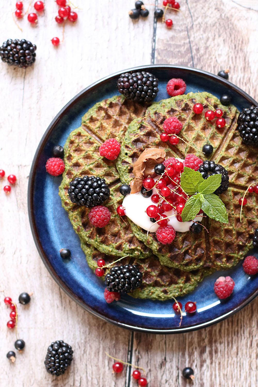 verdens bedste morgenmadsvafler - sunde vafler