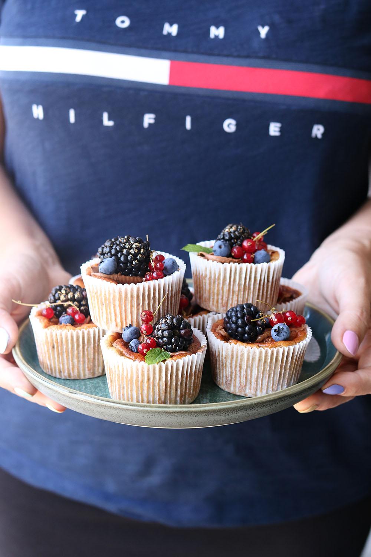 banan cupcakes på den sunde måde