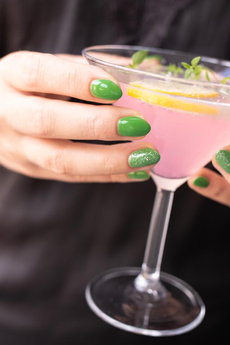 Sommerlækker martini med lemon