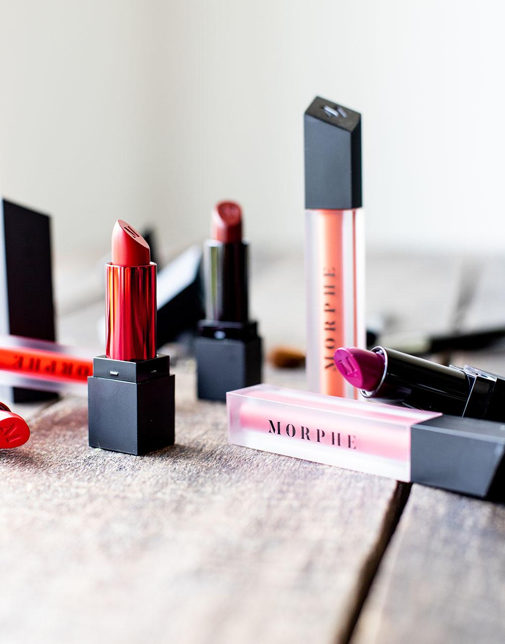 Morphe lipsticks