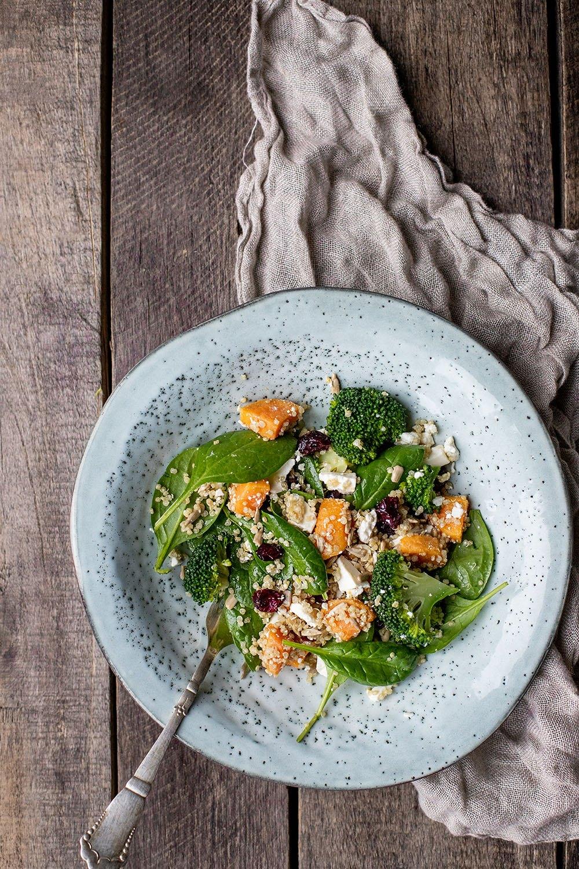 Lækker opskrift på quinoa salat