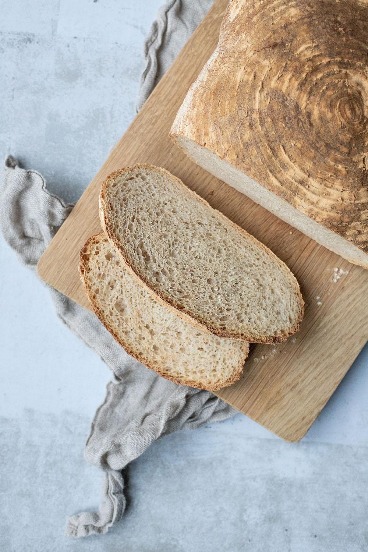 Nem opskrift på lækkert brød i hævekurv - ligesom det fra bageren