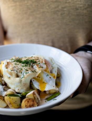 Dagens frokost - Stegte kartofler med spejlæg