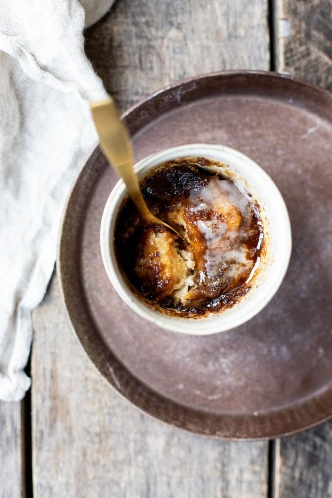 Lækker brunsviger i en kop på 5 minutter