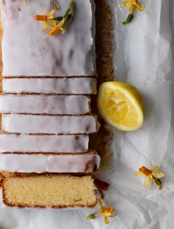 Påskefin citronsandkage
