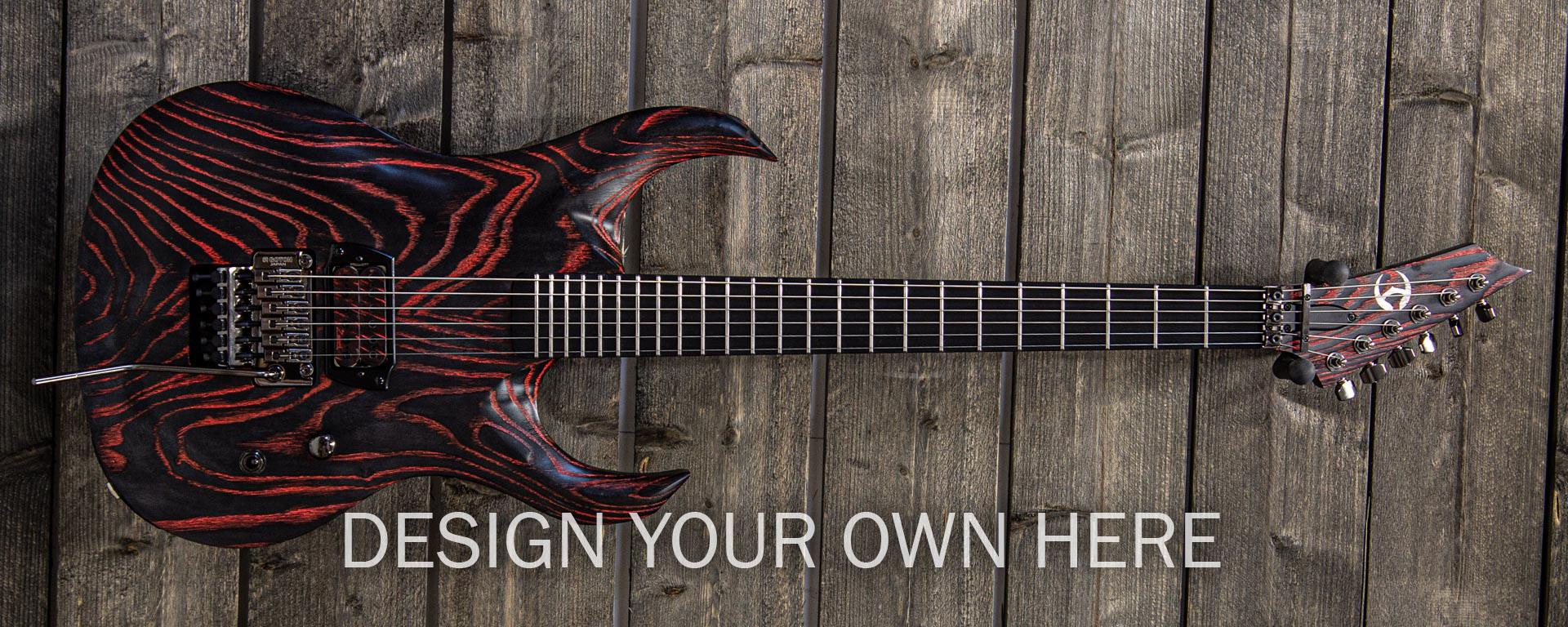 Katras -series electric guitar order form & price list