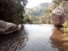 Alto da cachoeira de Sete Quedas, em Gonçalves (MG)