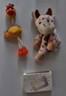 Uma patinha, uma vaquinha e uma caixinha de fósforos. Foto: CMC, em 27/3/2015
