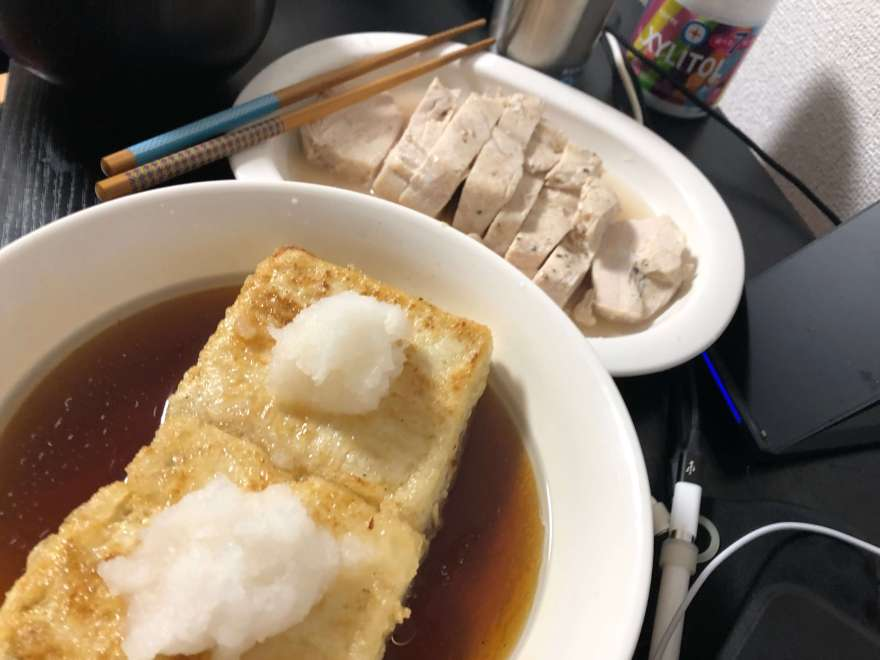 揚出し豆腐画像