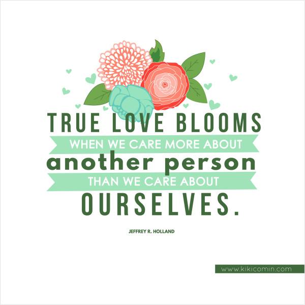 True Love Blooms - Kiki & Company