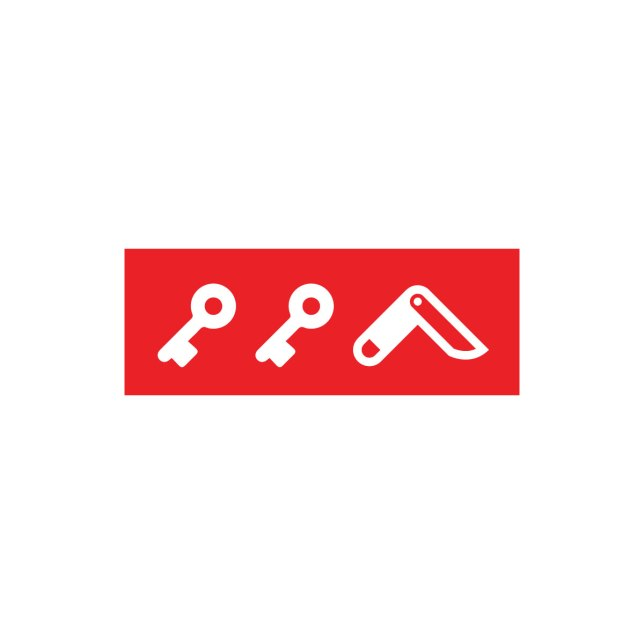 KIKICUTT icon (red)
