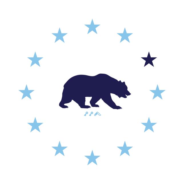 STAR GAZING california republic cal bears design by kikicutt
