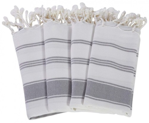 Turkish Towels Arent Just For The Bathroom They Work Great In Kitchen Too Add A Bit Of Tassel Detail To Your With Set Dish