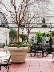 Ritz courtyard
