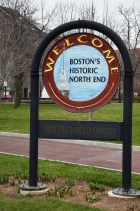 North End Sign