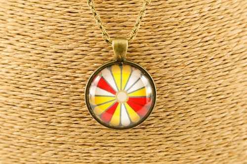 yellow-kiku-round-pendant