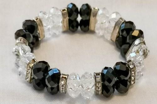 BLACK-CLEAR-crystal-bracelet