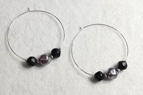 purple-blue-hoop-earrings