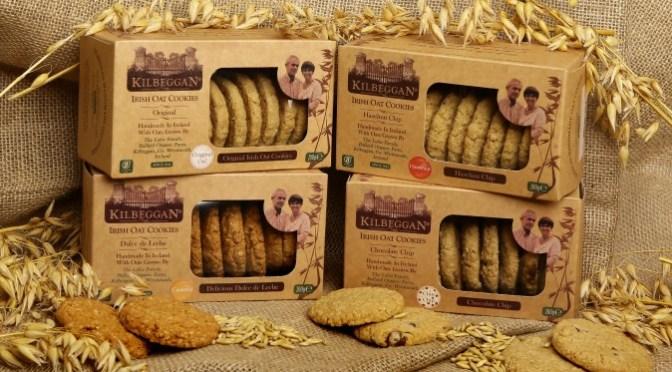 MMMMmmmmm………. Cookies! New Kilbeggan Oat Cookies, Individually Handmade with Organic Irish Oats